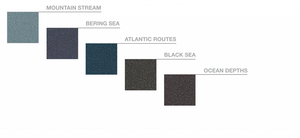 colores elemento agua