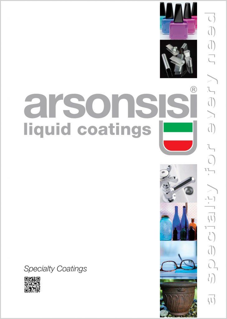 Arsonsisi specialty coatings brochure 2021